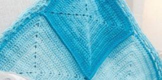 9 Nine Blocks Baby Blanket crochet