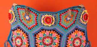 Casa Kahlo Blanket free pattern 2020