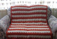 Coral Reef Shell Stitch Crochet Afghan Pattern 2020