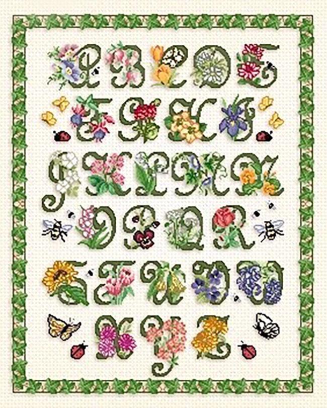 - Cross Stitch Alphabet Letters