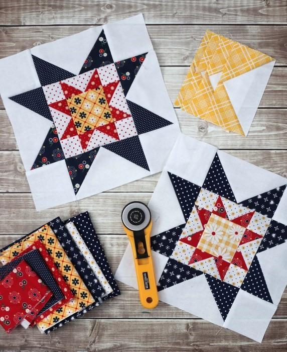 Quilt Block Tutorial Block 3  Meet the Makers 6