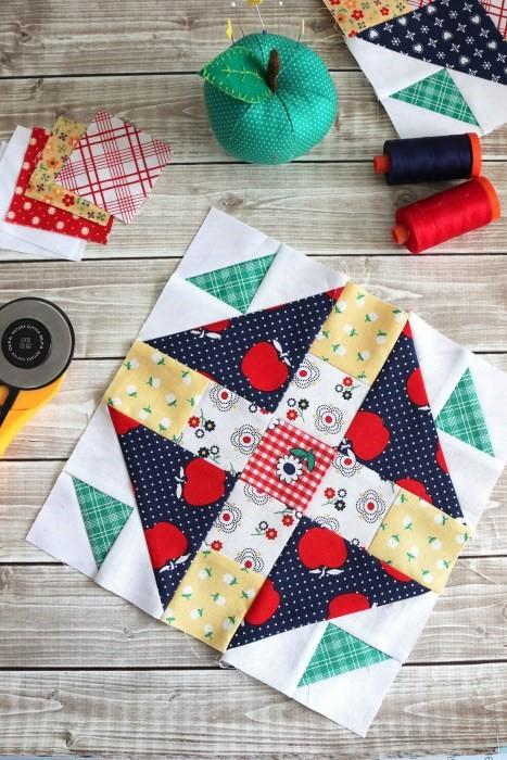Quilt Block Tutorial Block 2 Meet the Makers 10