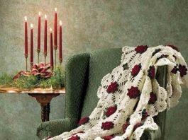 3D Crochet Flowers Quilt Free Pattern