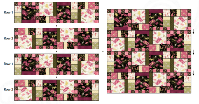 Aubrey Quilt Pattern beautiful colors 2020