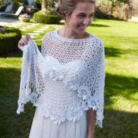 PERFECT BRIDAL SHAWL CROCHET by Aunt Lydia's - Wedding 2020?
