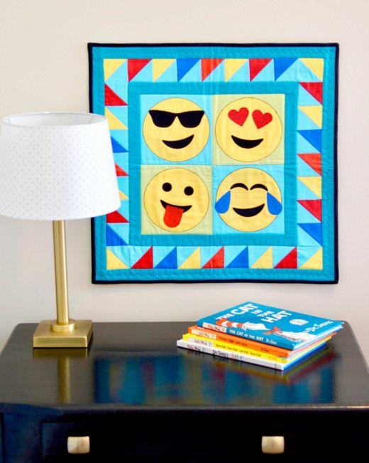 Butterfly and Emojis Free Patterns
