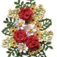 Crochet flower bouquet - WONDERFUL for 2020
