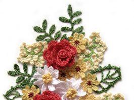 Crochet flower bouquet - wonders for 2020
