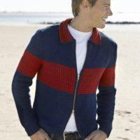 Men's Color Block Zip Jacket - Beautiful for 2020