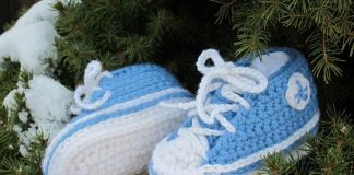 NewBorn Baby Converse - 2 times beautiful!