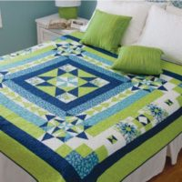 Boxing the Compass Throw Quilt Pattern - PDF 2020 FREE