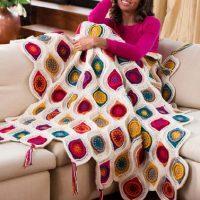 Free Pattern Quilt crochet decoration 2020
