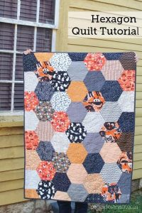Large Hexagon Quilt Tutorial - Beautiful 2020