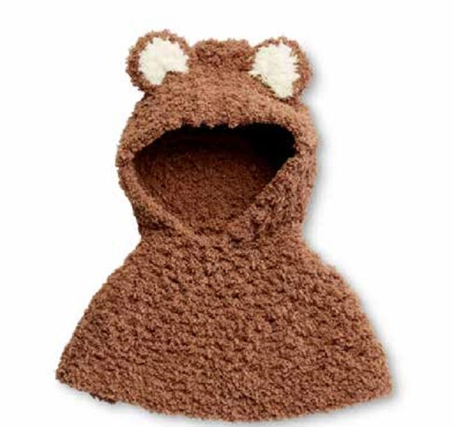 Bear Cub Crochet Poncho - BEST Patterns 2020