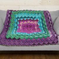 Boho Throw Blanket Free Pattern - Amazing 2020!