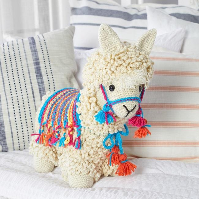 Llama no Drama Free Pattern