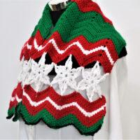 Christmas Scarf free pattern 2020