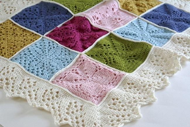 Crochet Blanket Natures Walk Blanket