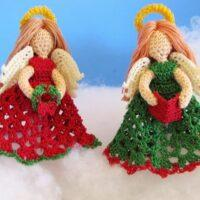 Crochet Little Angels Ornaments 2020 Free Pattern