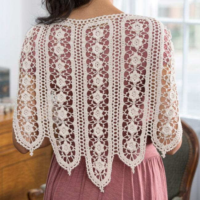 Wild Rose Shawl free patterns