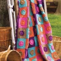Blanket Fantasy Garden Free Patterns - Idea 2020