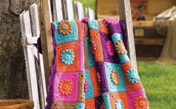 Blanket Fantasy Garden Free Patterns
