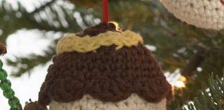 Amigurumi Ornaments Free Patterns all crocheted in Lily Sugar'n Cream.