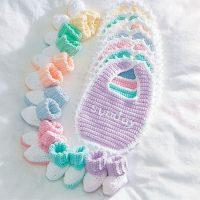 Crochet Baby Everyday Set Free Pattern 2020
