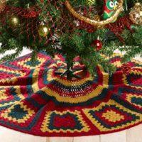 Kringle Crochet Tree Skirt Pattern Free 2020
