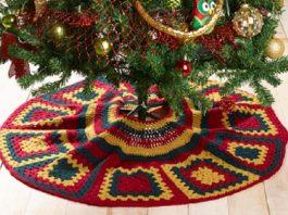 Kringle Crochet Tree Skirt Pattern