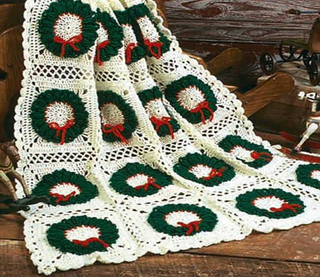 Holiday Delight Afghan and Angel Blanket 2020