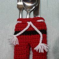 Santa Claus cutlery pants Free Patterns 2020