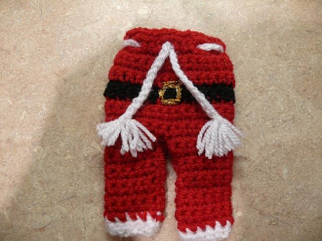 Santa Claus cutlery pants Free Patterns