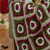 Crochet Yuletide Motif Throw Free Pattern - idea 2020