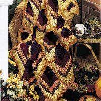 Crochet Harvest Hues Afghan Pattern Free 2020