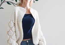 Cardigan Figs Crochet pattern