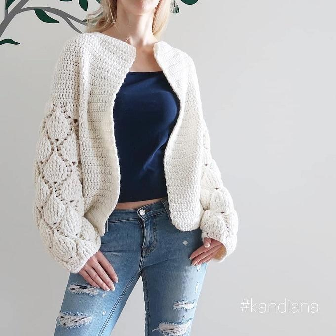 Cardigan Figs Crochet pattern