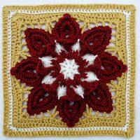 Crochet Purifying Afghan Block Free Pattern for 2021