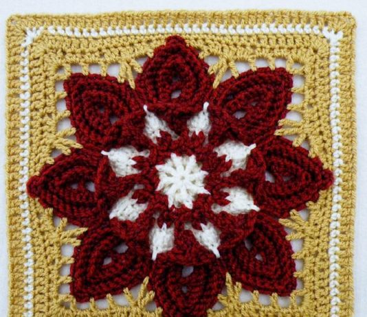Crochet Purifying Afghan Block
