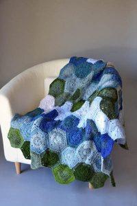 Crochet Lilypad Afgan in Universal Yarn Major Pattern free for 2021