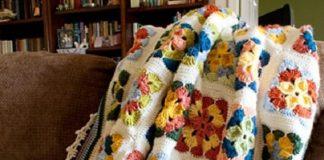 Weekend in Stockholm Throw Free Crochet Pattern