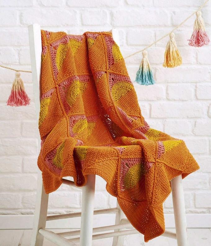 Golden Sunshine Crochet Pattern