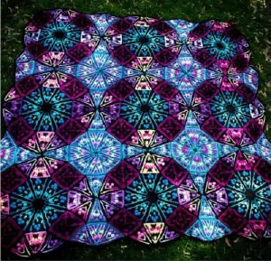 Color Kaleidoscope Blanket Crochet Patterns Free - 2021