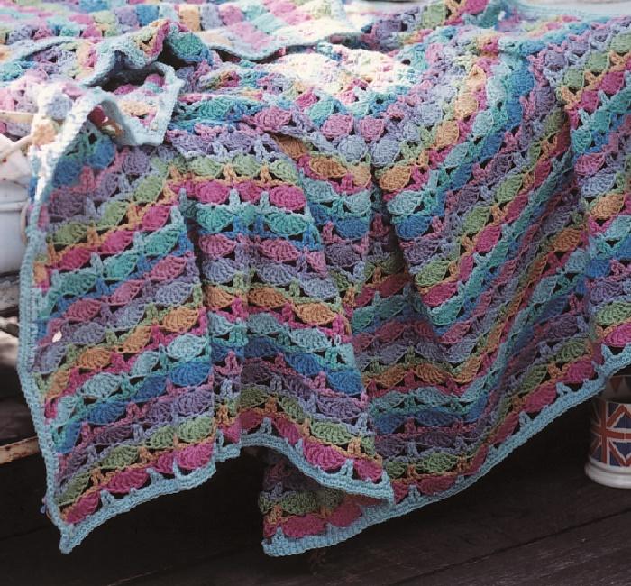Picnic Blanket Crochet Pattern by Marie Wallin