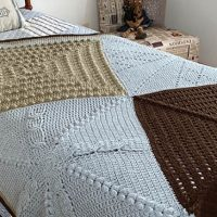 Crochet Stitch Sampler Blanket Pattern free