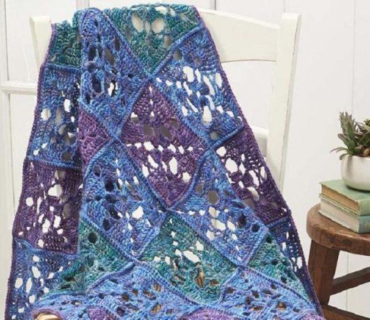 Crochet Watercolor Blanket